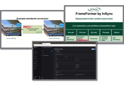 InSync Technology Announces New Standards Conversion Solutions at IBC2019