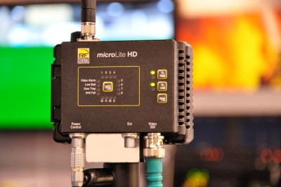 Integrated Microwave Technologies (IMT) RF Central Showcases License-Free 5.8 GHz microLite HD Compact COFDM Transmitter at 2011 NAB SHOW