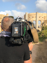 Jonathan Young, DP for the BBC and rsquo;s and lsquo;Mediterranean With Simon Reeve, and rsquo; Endorses Anton Bauer Dionic XT