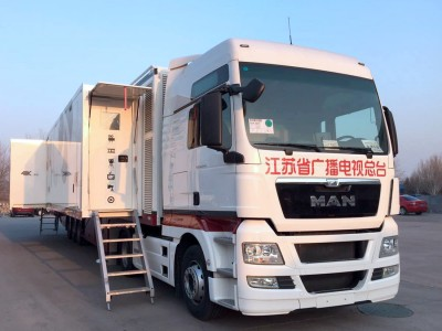 JSTV Puts Riedel Communications and Signal Transport Solution in Chinas First 4K OB Truck