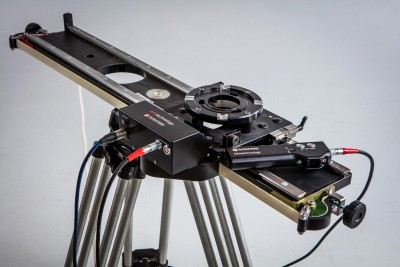 KFX Technology takes its Aurora Remote Head and new products to Cinegear with high end KFX-Ronford Baker Motorized Slider and KFX-MYT new products Velvet Remote Head and Constellation Skater Dolly