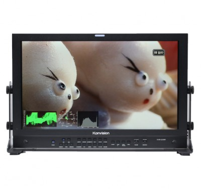Konvision 3G HD broadcast monitors launched new