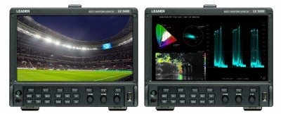 Leader LV5490 Deployed for 4K Coverage of World Football Championship