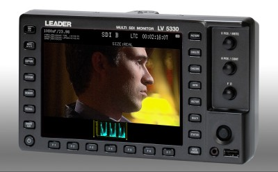 Leader to launch S-Log2 option for LV 5330 multi-SDI monitor at 2013 NAB Show