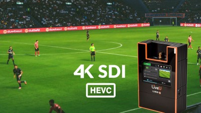 LiveU Delivers Industry Highest Levels Of Performance With Enhanced LU600  4K HEVC Product Suite