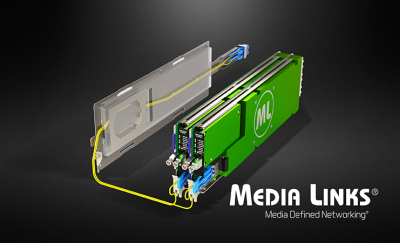 Media Links Drives 100 Billion Bits per Second to the Network Edge for Remote Production Applications