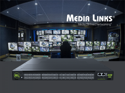 Media Links Promotes 100G IP Solutions on NAB New York and rsquo;s Big Stage