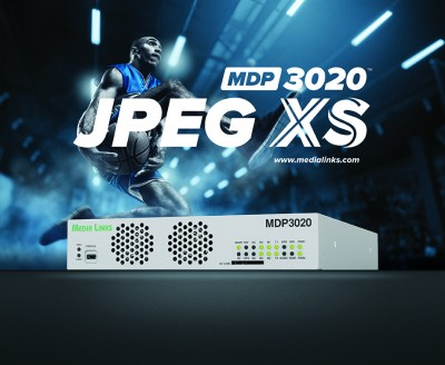 Media Links Showcases JPEG-XS Compression Solution for Bandwidth-Constrained, Low Latency Applications at NAB 2020