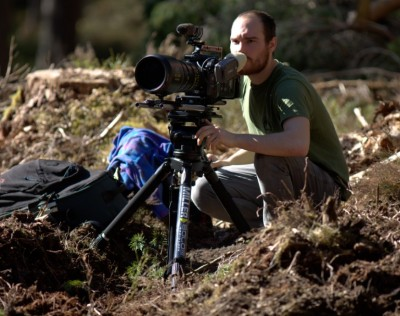 Miller Products Help Videographer Capture Images of Scotlands Elusive Wildcat in Its Natural Habitat
