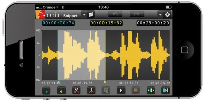 NETIA iSnippet Mobile Audio Editing Tool for Radio-Assist Now Available on iTunes App Store