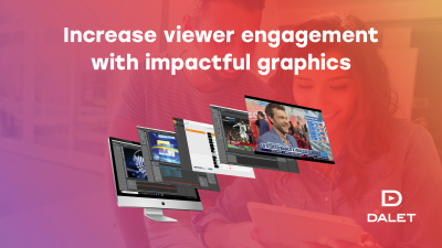 New Dalet Cube NG Brings Advanced Broadcast Graphics to