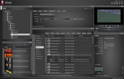 New Orad iFind MAM Solution Expands Graphics, Audio and Production Workflow Design Capabilities