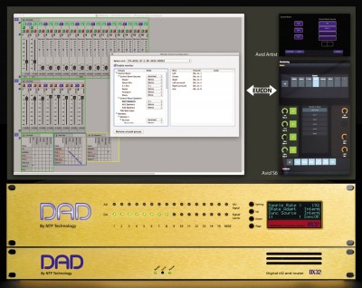 NTP Technology releases Pro | Mon monitor control option for DAD AX32 and DX32 with EUCON 3 support for Avid S6 Control Surface