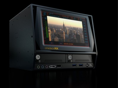 Oxygen DCT Unveils New Cinedeck RX at IBC 2011