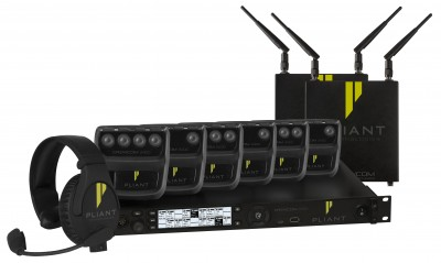 Pliant Technologies Showcases Latest Updates for CrewCom Wireless Intercom System at ISE 2019