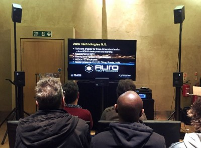 PMC Helps Showcase Auro-3D and reg; To Top UK Producers
