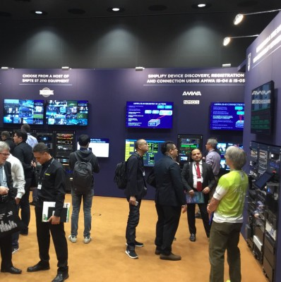 Popularity of IBC2018 IP Showcase Signals Growing Enthusiasm for IP Media Applications