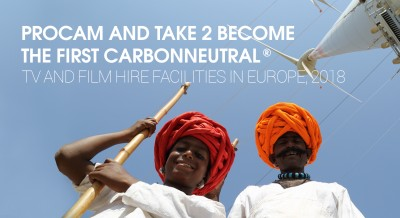 PROCAM AND TAKE 2 BECOME THE FIRST CARBONNEUTRAL<sup> and reg;< sup> TV AND FILM HIRE FACILITIES IN EUROPE