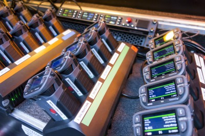 Riedel Intercom System Shines for Singin in the Rain at the Grand Palais