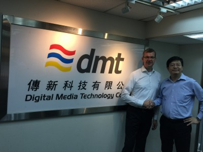 RTW Designates Digital Media Technology Co. LTD. as New Chinese Distributor