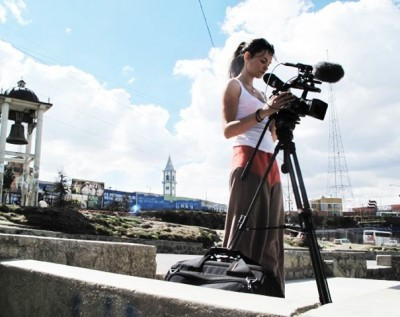Sachtler supports environmental documentary  On the search for clues in Bolivia with the FSB 8
