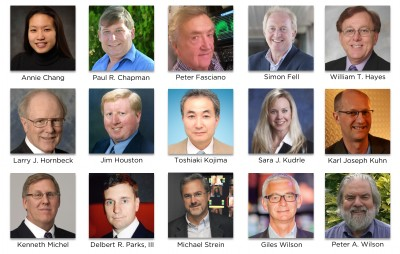 SMPTE(R) Elevates 15 Motion-Imaging Technology Industry Leaders to Fellow Status