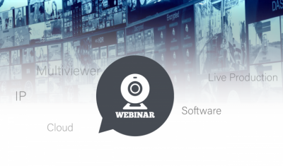 TAG Video Systems and rsquo; Next Webinar Presents New Cloud Probing and Multiviewing Models for Playout