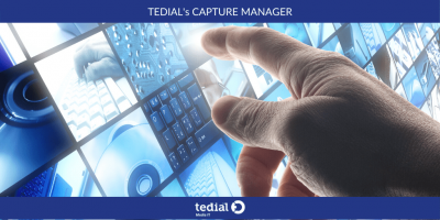 Tedial Unveils New Version of Capture Manager UI for Device Control and Monitoring and Advanced Ingest Technology