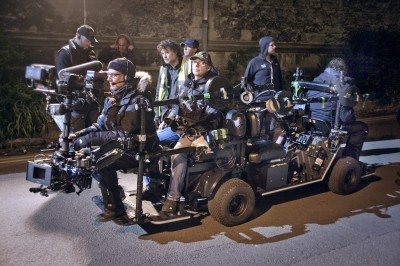 The latest Flyka electric tracking vehicle arrives  smooth, silent and slim, built around Steadicam and the focus-puller