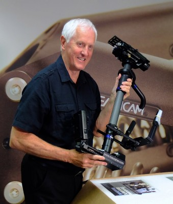 Картинки по запросу The Inventor of the Steadicam Garrett Brown – Photo Plus Expo 2012