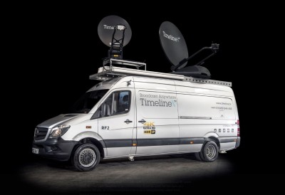 TSL Products Maintains Audio Contribution Feeds for  Timeline and rsquo;s RF Uplink Trucks