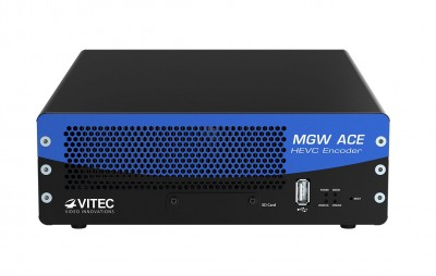 VITEC Unveils Worlds First Hardware-Based Portable HEVC Encoding and Streaming Appliance