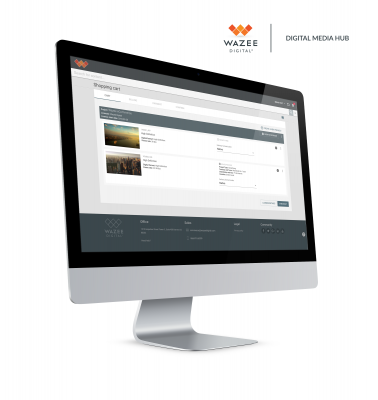 Wazee Digital Announces E-Commerce Capabilities for Digital Media Hub