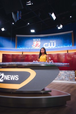 WXII Illuminates News Set with Brightline LED Fixtures