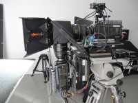 Binocle tests the Phantom Flex 3D 2500 fps  at Alga Panavision France