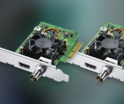 Blackmagic Design Announces new DeckLink Mini 4K models