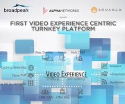 Broadpeak, Alpha Networks, and Squadeo Join Forces to Simplify Multiscreen Video Delivery and Improve QoE