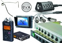 New Power Distribution, Fibre Panels, Recorders, Monitors and Mics from Canford at BVE North