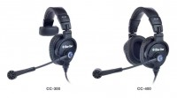 Clear-Com Introduces New CC-300 and CC-400 Headsets at the 2012 NAB Show