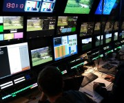 CTV OB 12 IP Truck Goes Live at PGA European Tour with Leader LV7600 and LV7300 Rasterizers