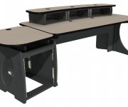 Custom Consoles Announces Enhanced Design and Colour Style for EditOne Graphics Suite Desk and Pedestal