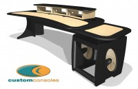 Custom Consoles EditOne self-assembly desk and pedestal attract strong interest at IBC2013