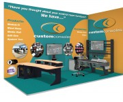 Custom Consoles Introducing Module-R Lite Studio Desk at CABSAT 2017