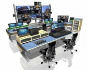 Custom Consoles Module-R and Media Wall chosen for studio project in Azerbaijan