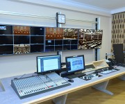 Custom Consoles Module-R and MediaWall chosen for Azerbaijan Parliamentary Television