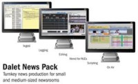 Dalet News Pack, a Complete Package for Small and Mid-Sized Newsrooms, Includes Hardware and Software Components; Featured at NAB 2013