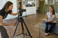 Danna Kinsky Uses Sachtler Ace for the Untold Project