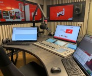 DHD Audio RX2 XC2 Audio Mixing System Goes On Air at NRJ Norway