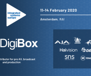 DigiBox Highlights Pro-AV Partners at ISE 2020