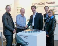 DirectOut Technologies Names Aspen Media Distributor of the Year